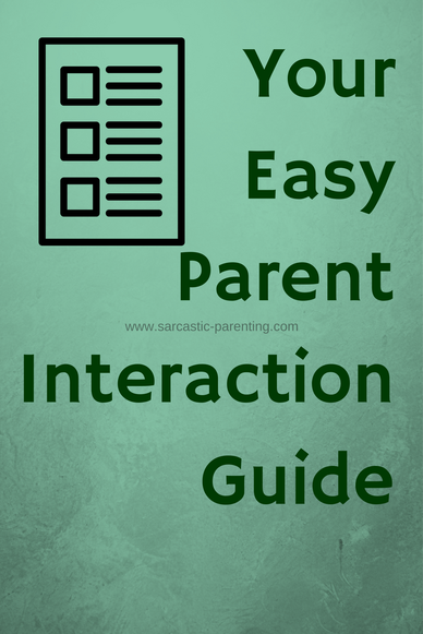 Read these tips on interacting with fellow parents (we all need a little help sometimes)